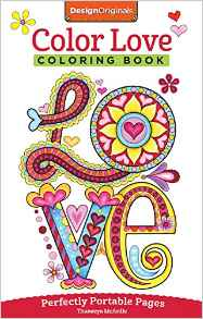 Valentines Color Love Coloring Book